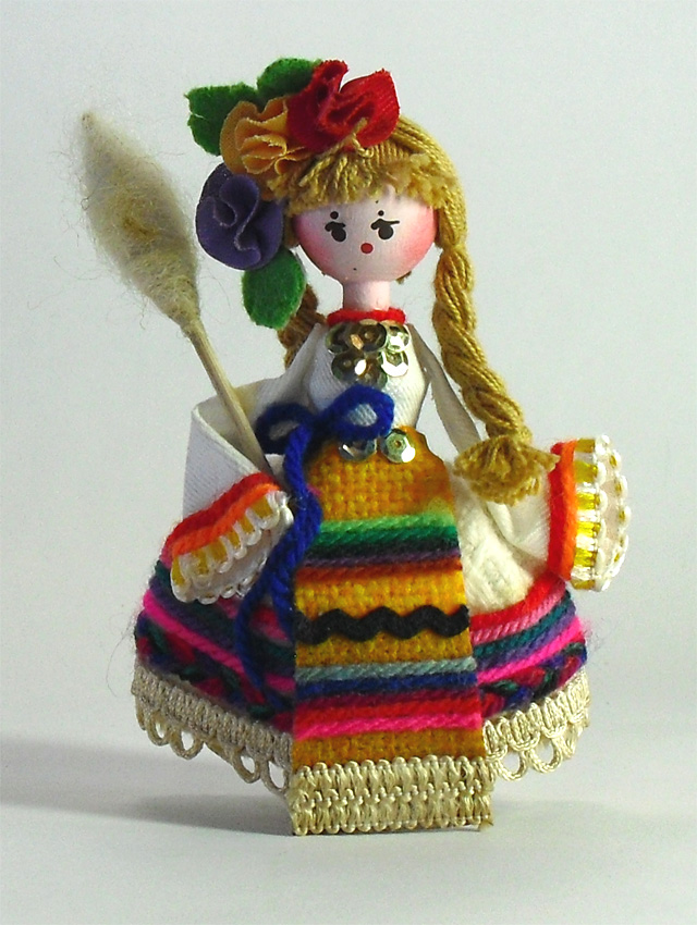 ローズオイル人形